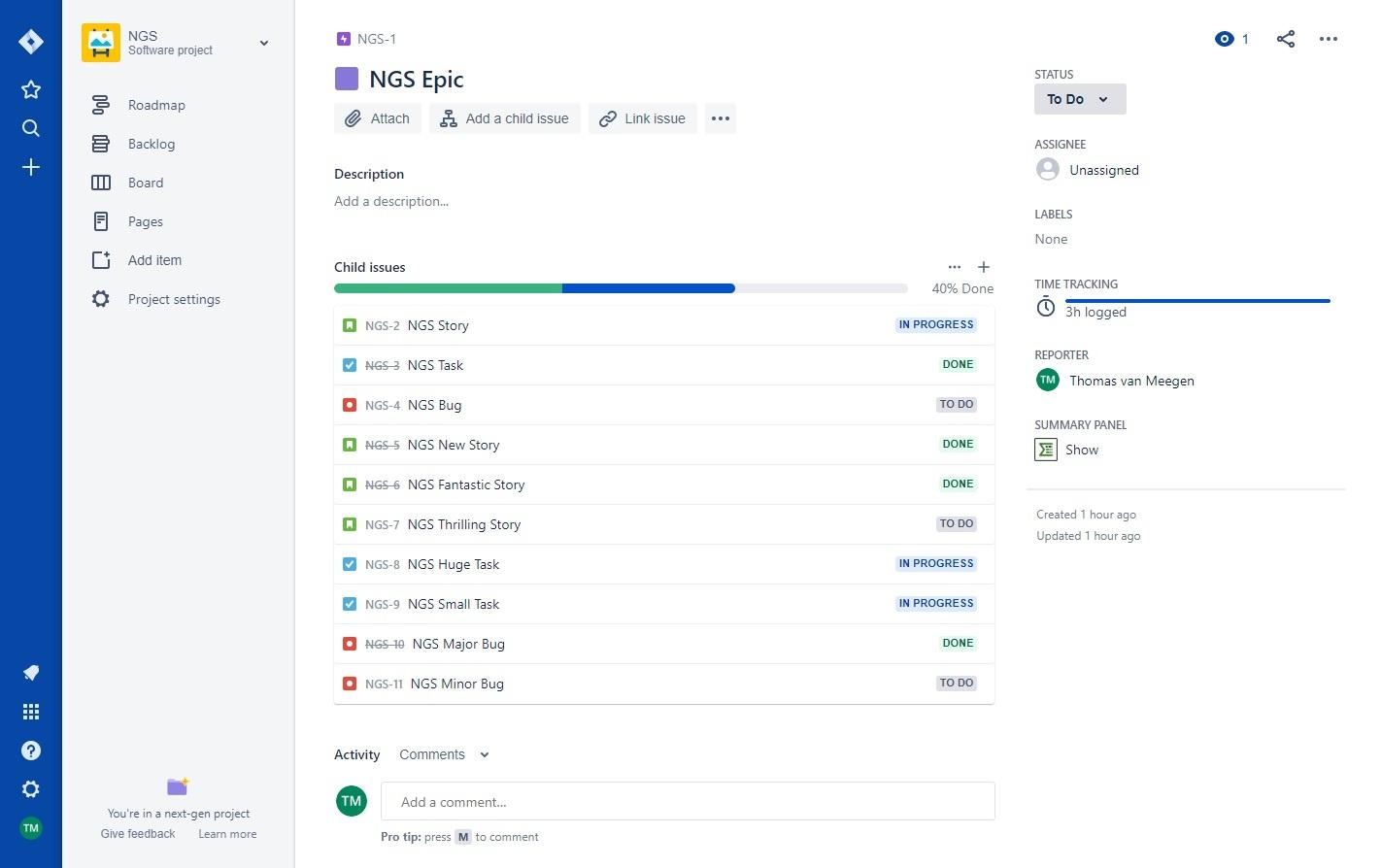 Epic Sum Up Cloud Update: Better Summary Panel